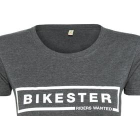 Bikester Logo Shirt Femme, melange black